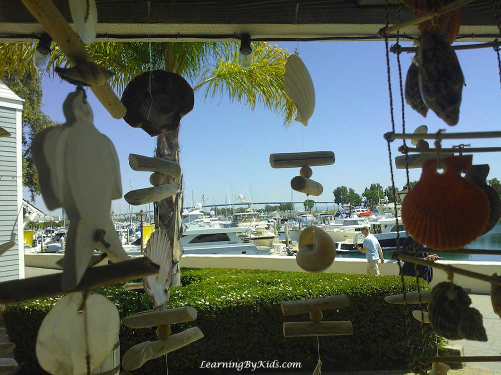 Downtown San Diego Seaport Village | Learning By Kids | LearningByKids.com